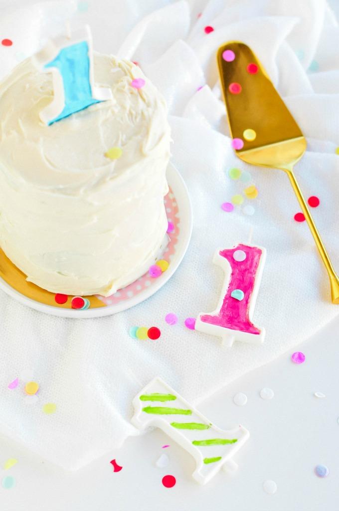 The Weekenders \\ Edible birthday candles by @theproperblog