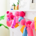 Make It \\ DIY Paper Gift Box Garland