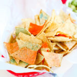 Red, White, & Blue \\ Edible Patriotic Chips For The 4th of July