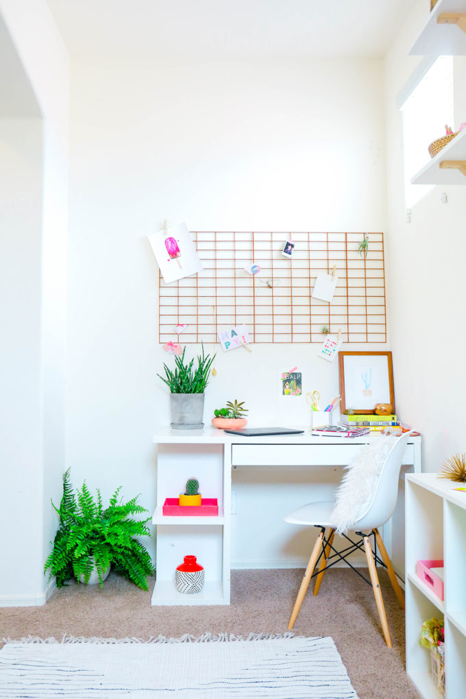 DIY Copper Inspiration Board For The Office