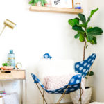 Make This \\ DIY Butterfly Chair Makeover