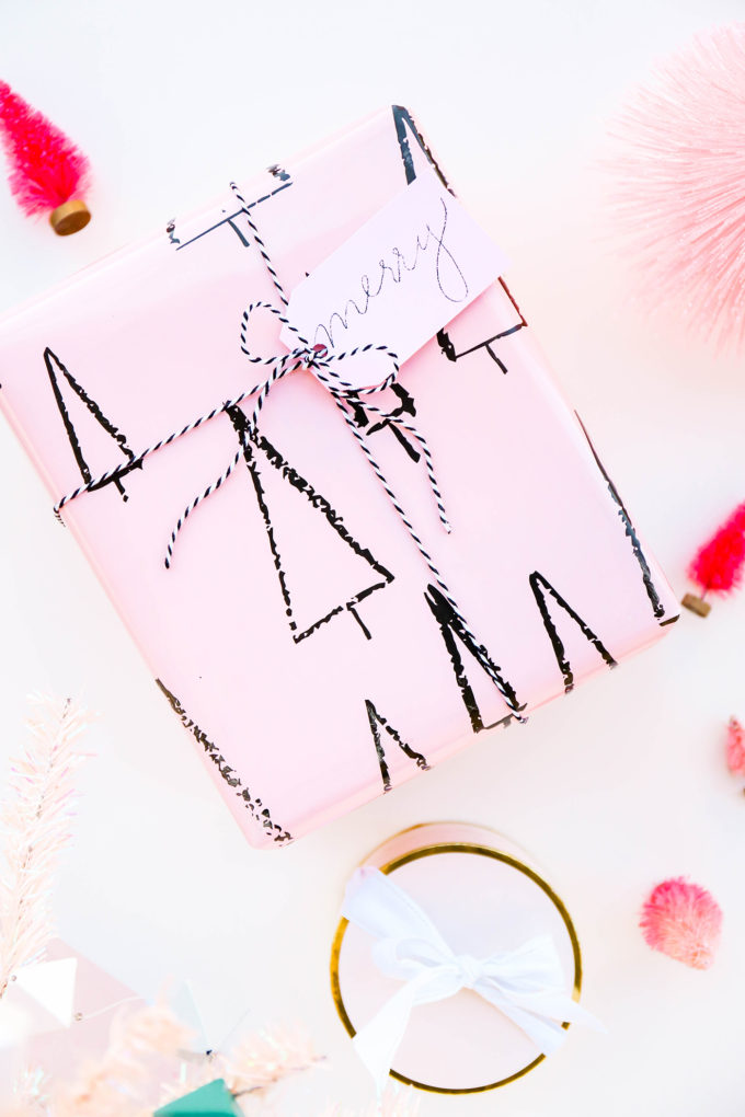 Merry Merry Tags & Printable Gift Wrap