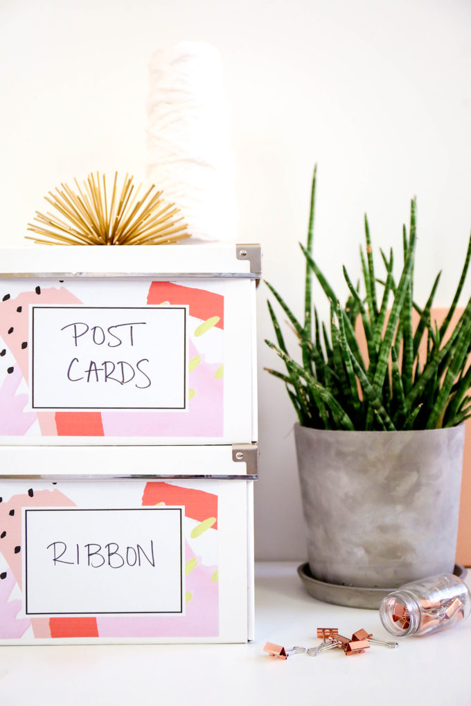 Printable Abstract Labels For Organizing Everything