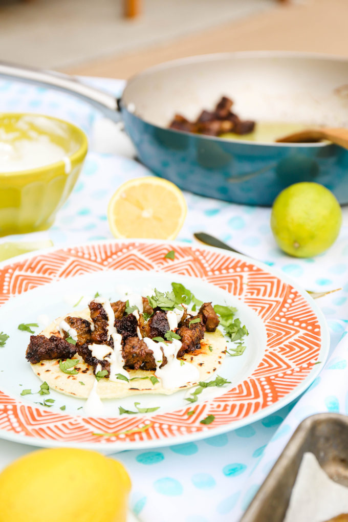 #TasteIt \\ Indian Spiced Steak Tacos Recipe