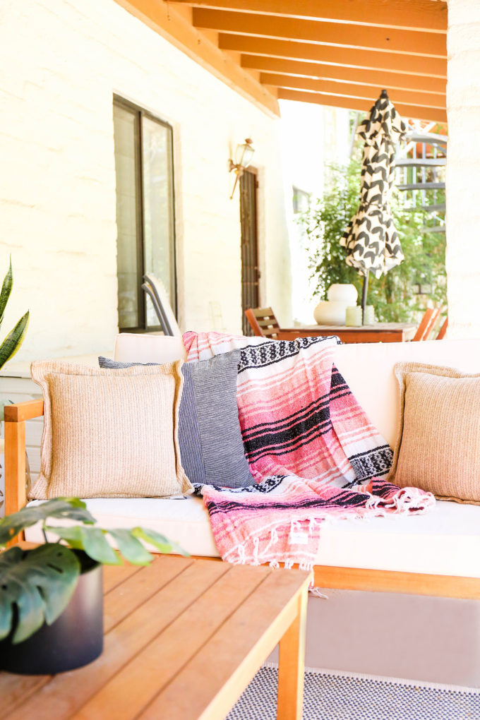 styled patio furniture