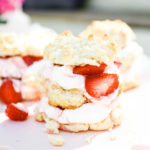 #TasteIt \\ Easy Strawberry Shortcake with Browned Butter Peaches