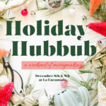 Prepping For Our Weekend At The Holiday Hubbub