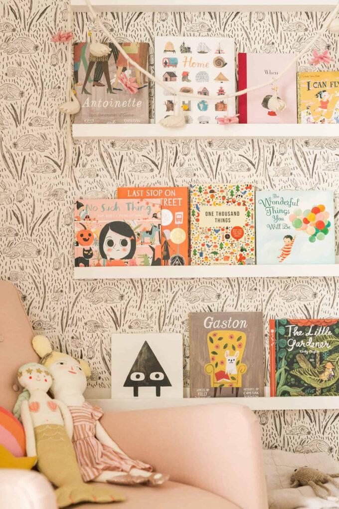 children's book shelves