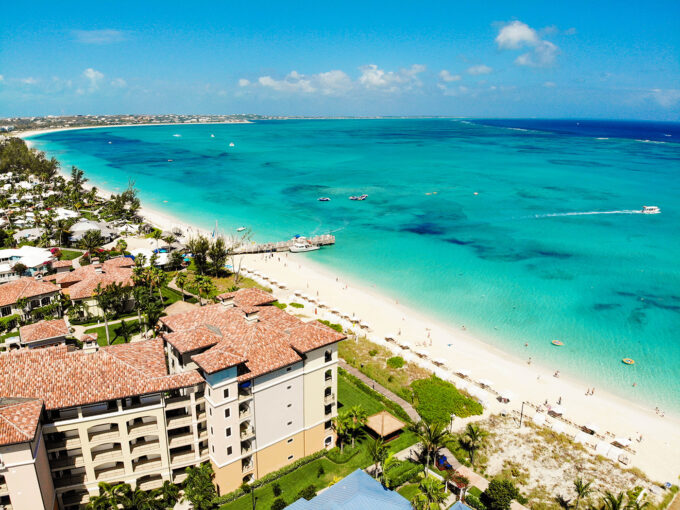 Aerial photo of Beaches Turks & Caicos Resort