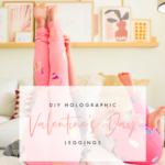 DIY Valentine's Day Leggings with Cricut