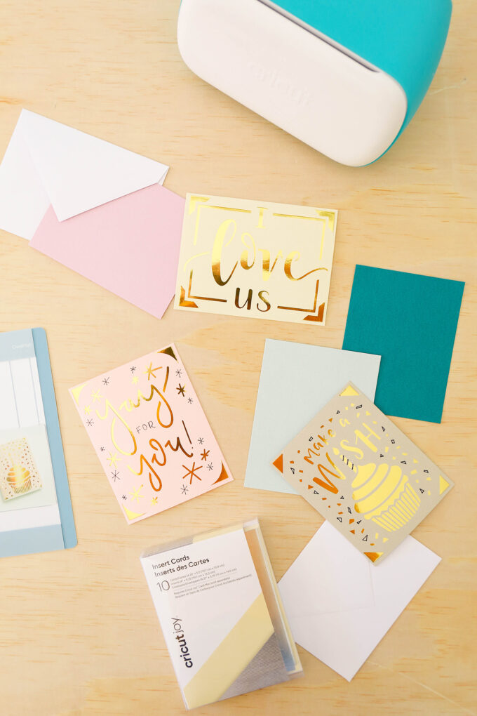 cricut joy with card kits