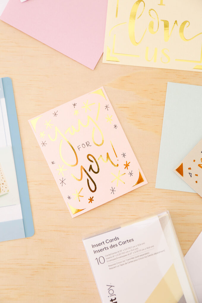 cricut joy card kits