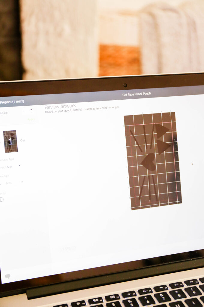Cricut Design Space creating with Cricut Joy