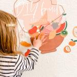 DIY Fruit Stickers