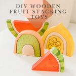 hero image with wooden fruit stacking toys