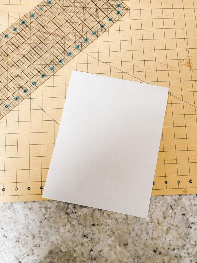 8.5 x 11 fabric to print on
