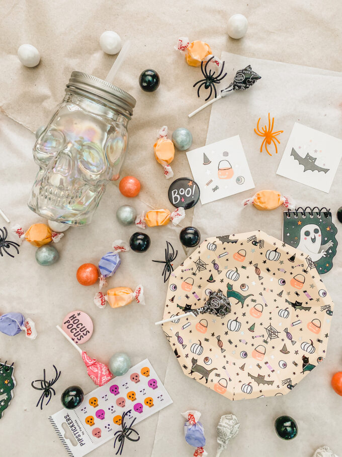 Halloween Birthday Party Favors & Candy