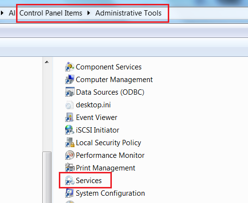restart CRM and NAV services - go to Control Panel Items and Administrative Tools