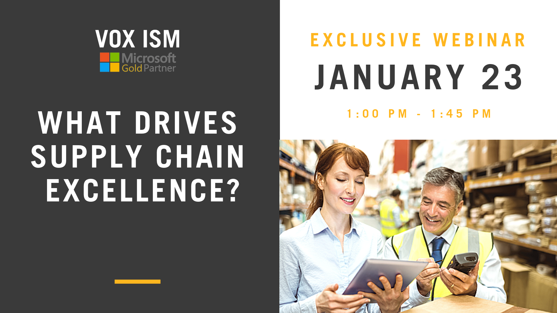 What Drives Supply Chain Excellence!