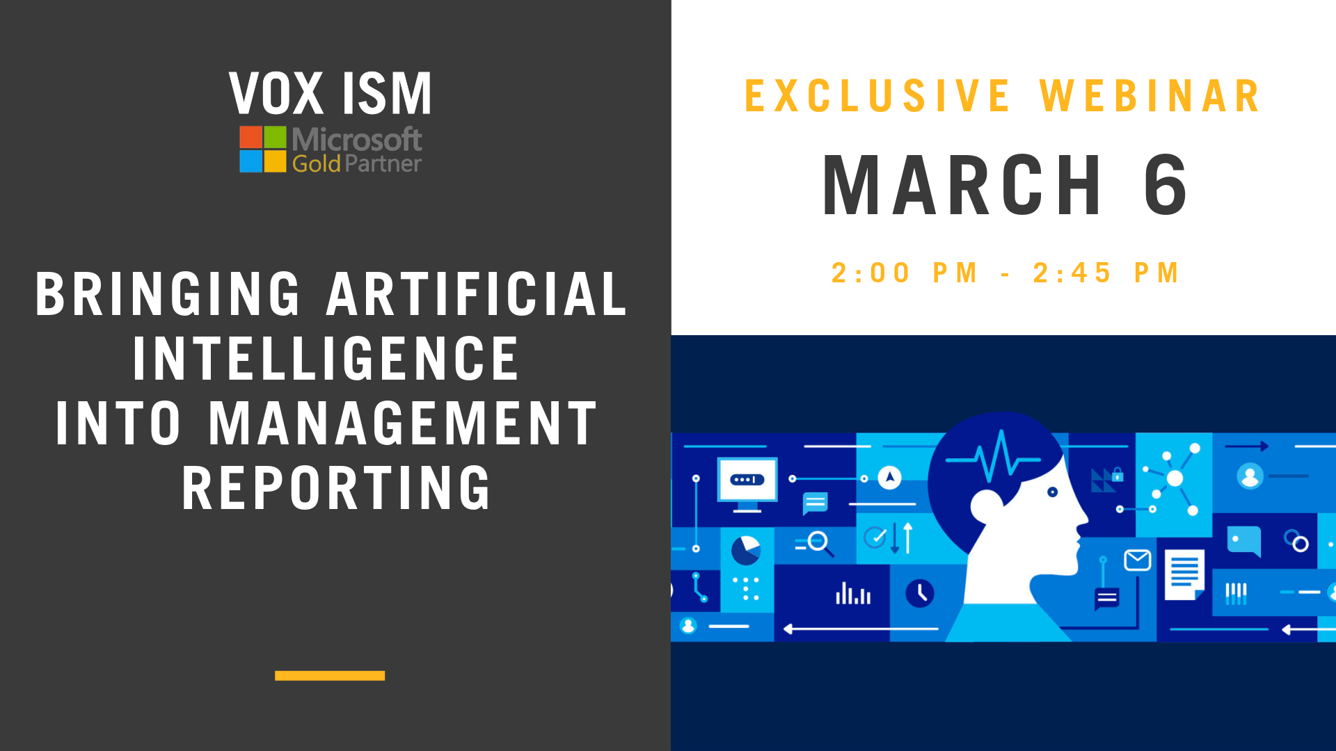 Bringing Artificial Intelligence into Management Reporting – March 6 – Webinar
