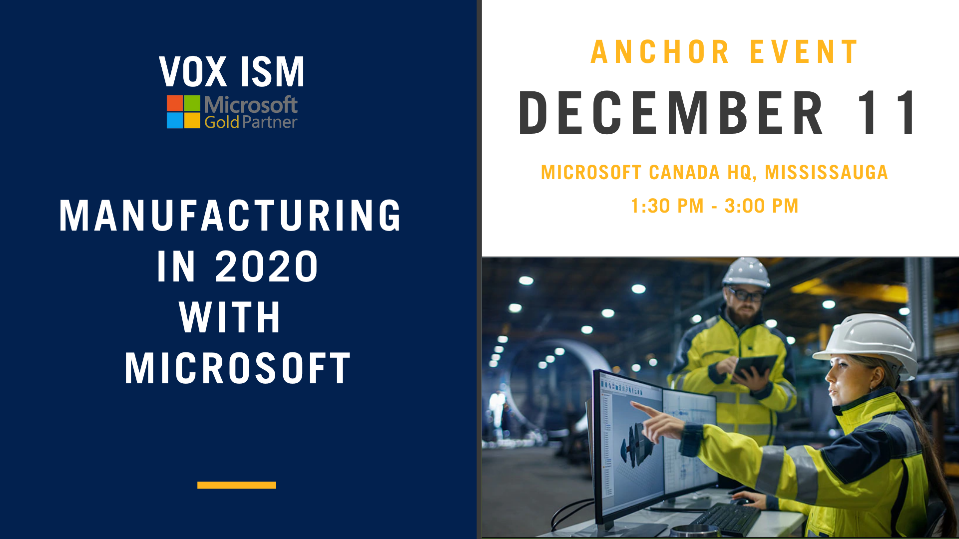 Manufacturing in 2020 with Microsoft_December 11