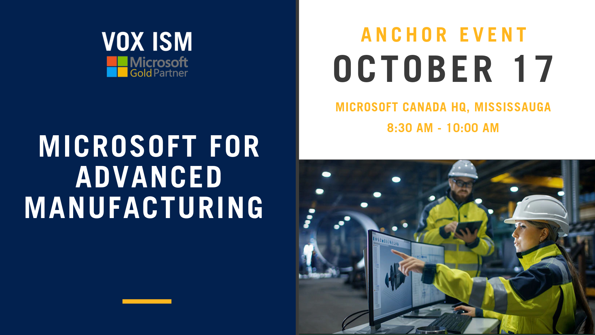 Microsoft for Advanced Manufacturing
