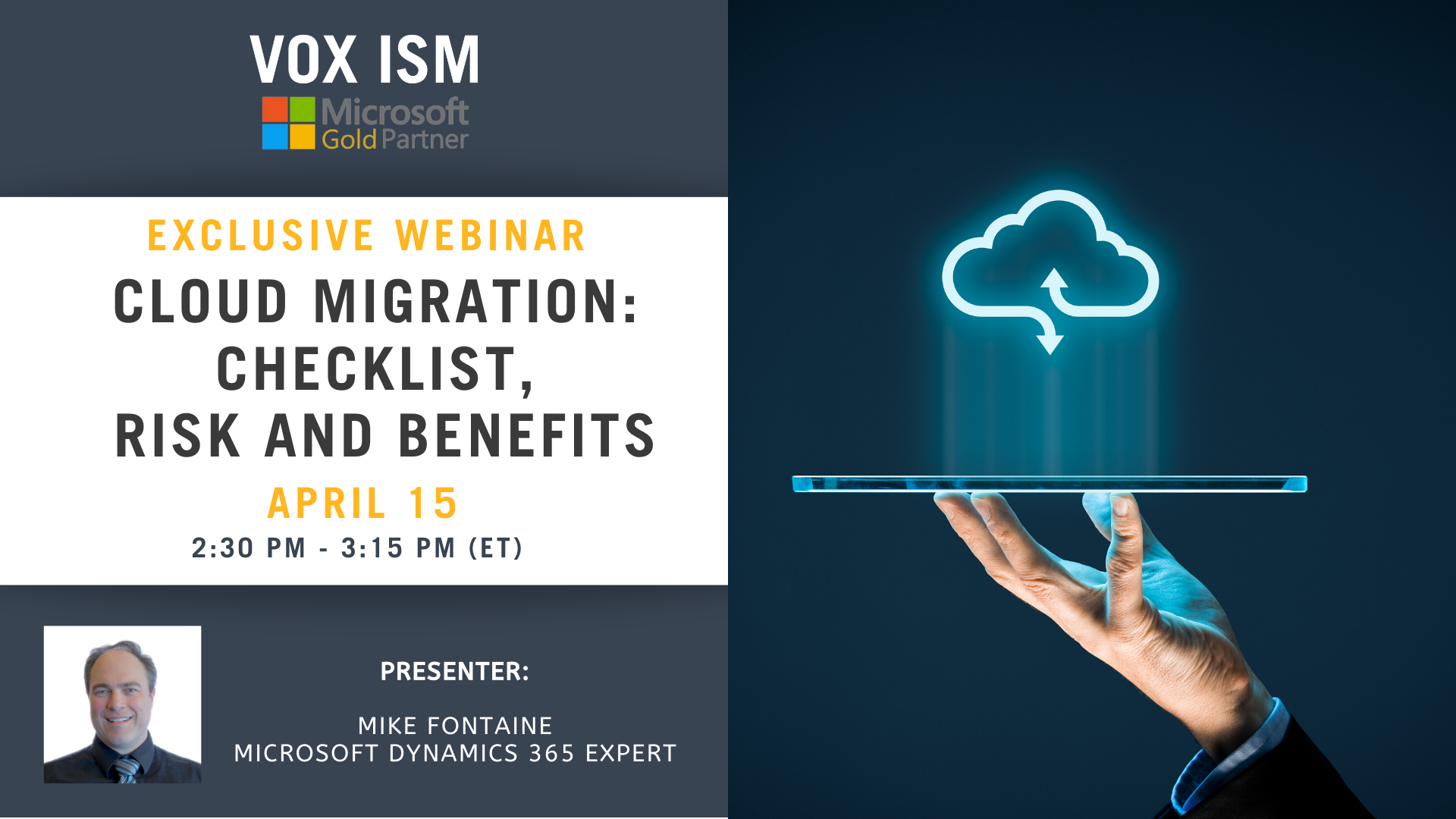 Cloud Migration Checklist, Risk and Benefits_VOX ISM