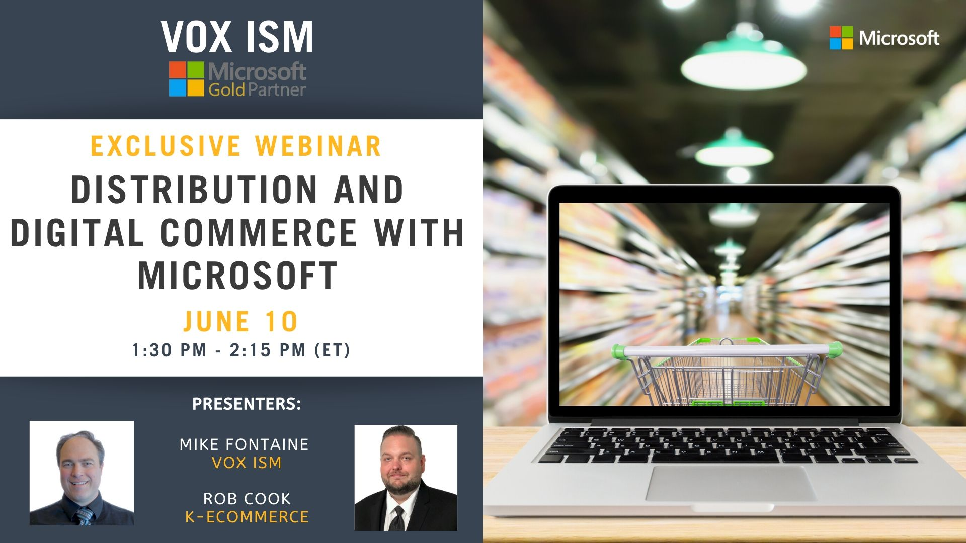 Distribution and digital commerce with Microsoft - June 10 - Webinar