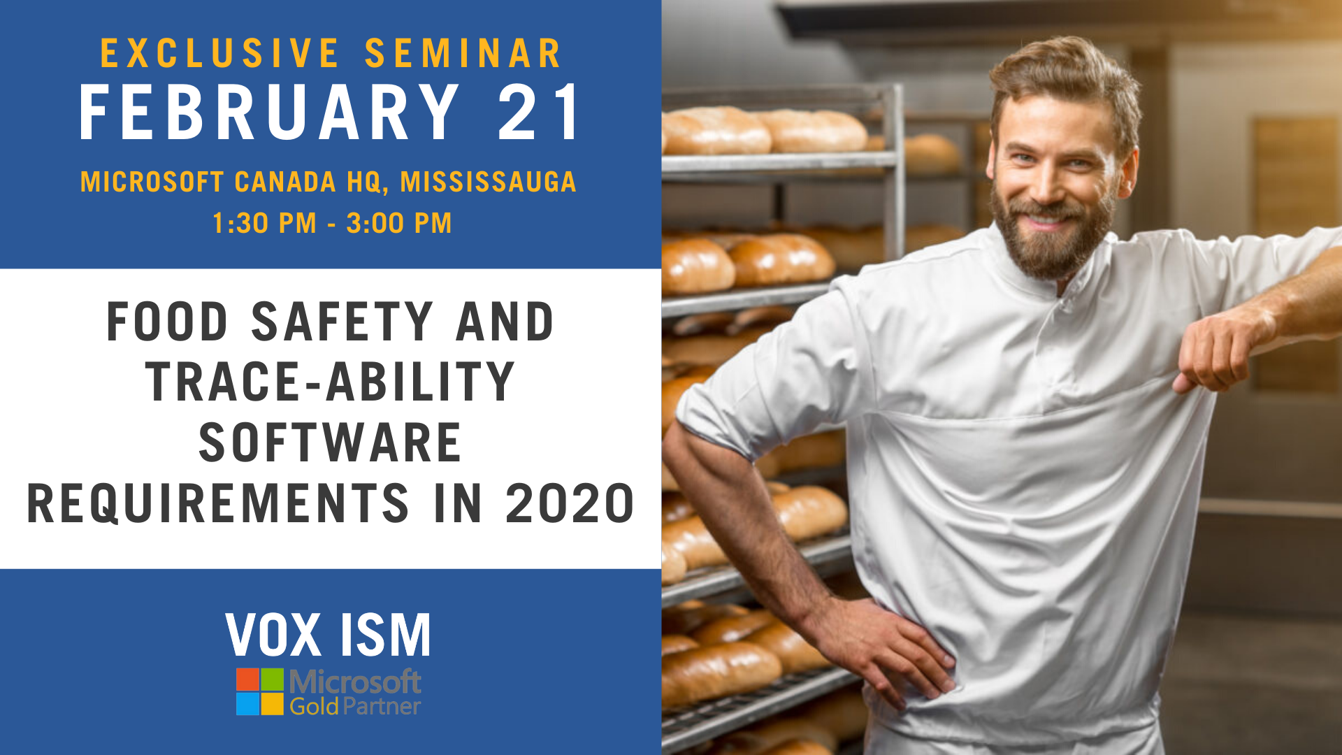 Food Safety and Trace-ability Software Requirements in 2020_Feb 21_VOX ISM