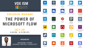 The Power of Microsoft Flow_VOX ISM