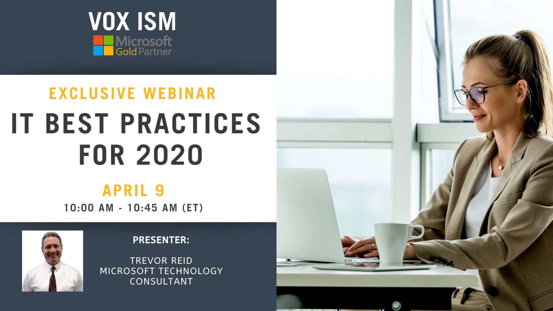 IT Best Practices for 2020 - April 9 - Webinar_VOX ISM