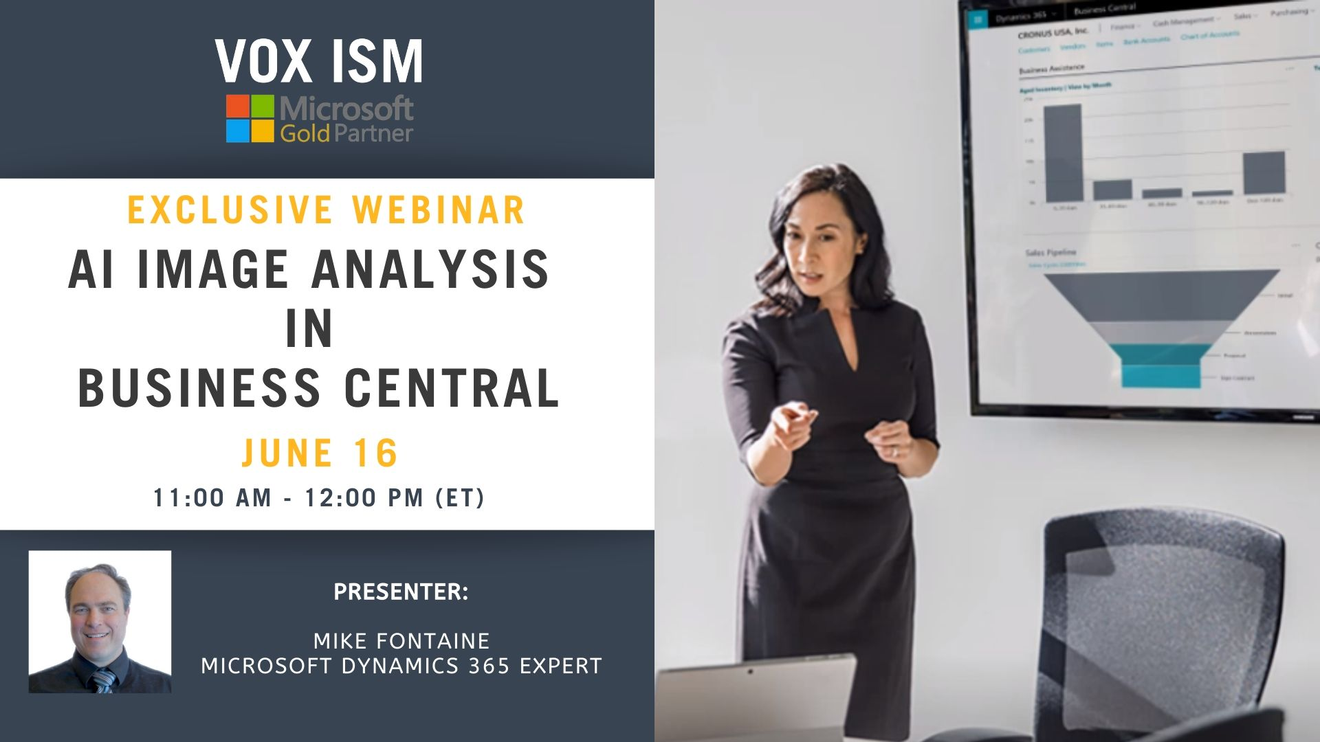 AI Image Analysis in Business Central - June 16 - Webinar VOX ISM