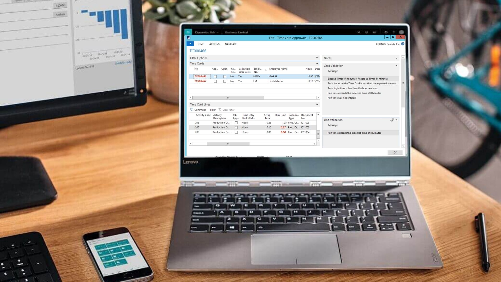 Shop Floor Data Collection for Dynamics 365 Business Central
