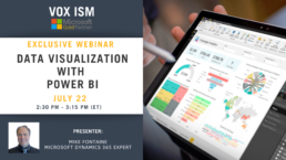 Data Visualization with Power BI - July 22 - Webinar VOX ISM