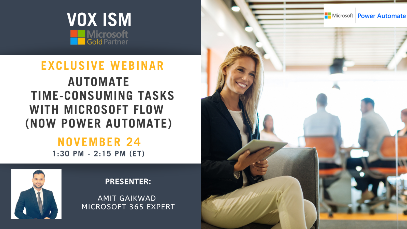 Automate Time-Consuming Tasks with Microsoft Flow