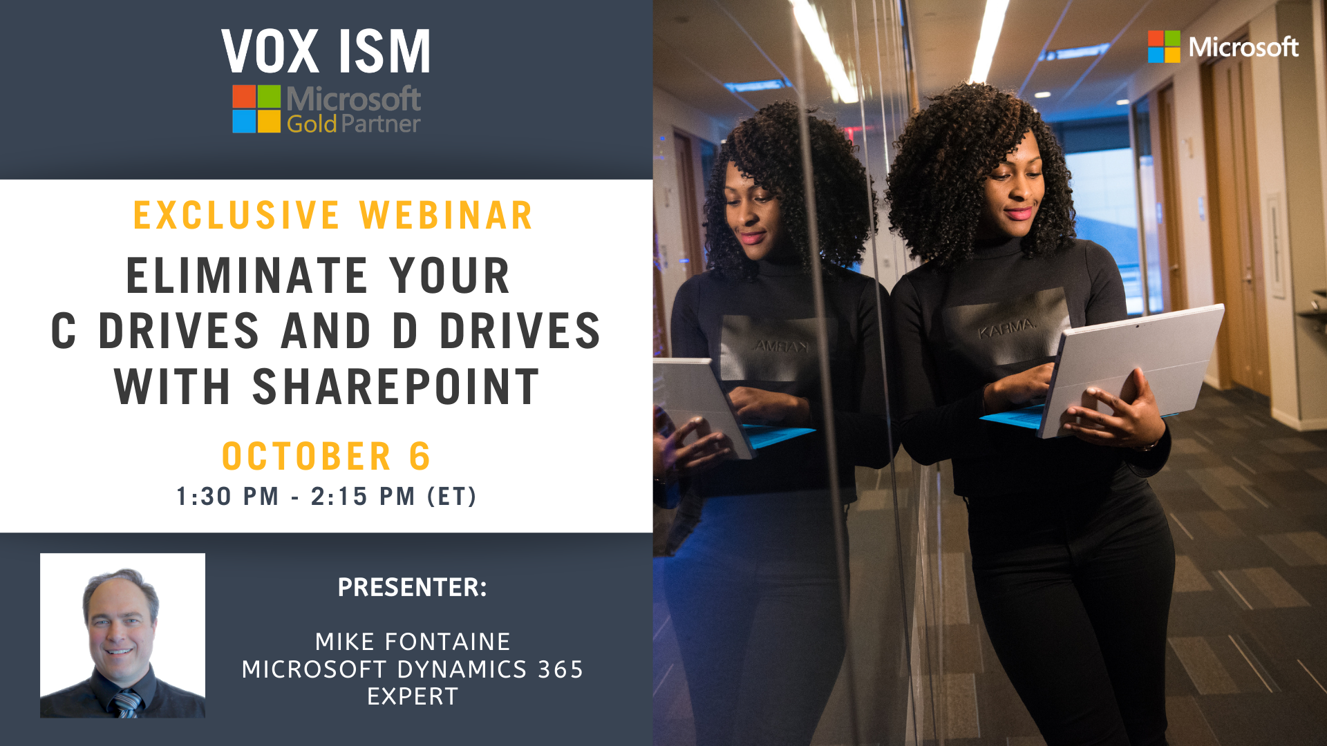 Eliminate your C drives and D drives with SharePoint - October 6