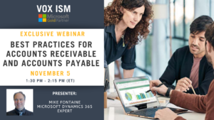 Best Practices for Accounts Receivable and Accounts Payable - November 5 - Webinar