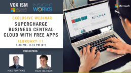 Supercharge Business Central Cloud with Free Apps - February 11 - Webinar