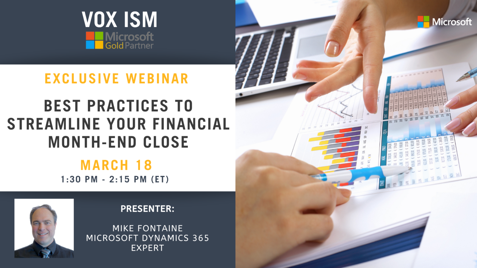 Best Practices to Streamline Your Financial Month-End Close - March 18 - Webinar