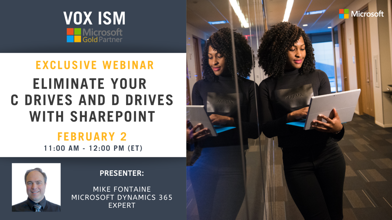 Eliminate your C drives and D drives with SharePoint - February 2 - Webinar
