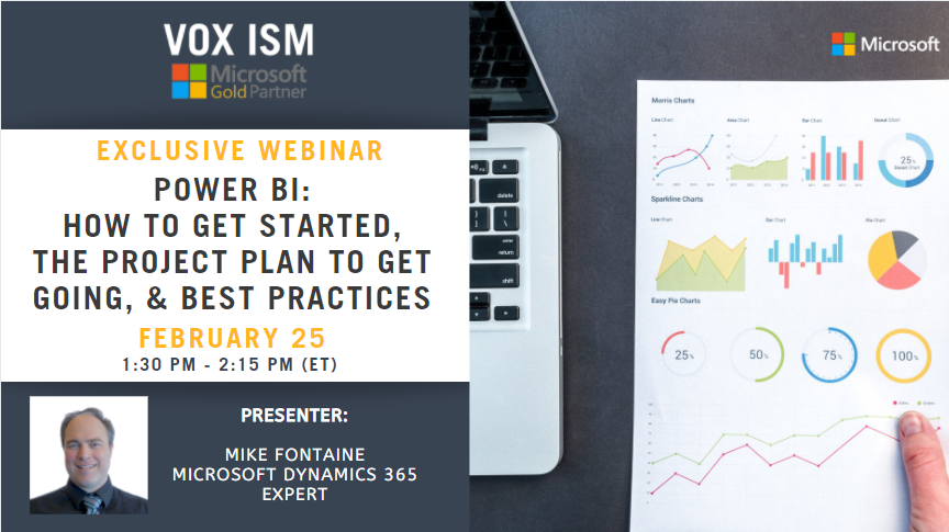 Power BI - How to Get Started, The Project Plan to Get Going, & Best Practices - February 25 - Webinar