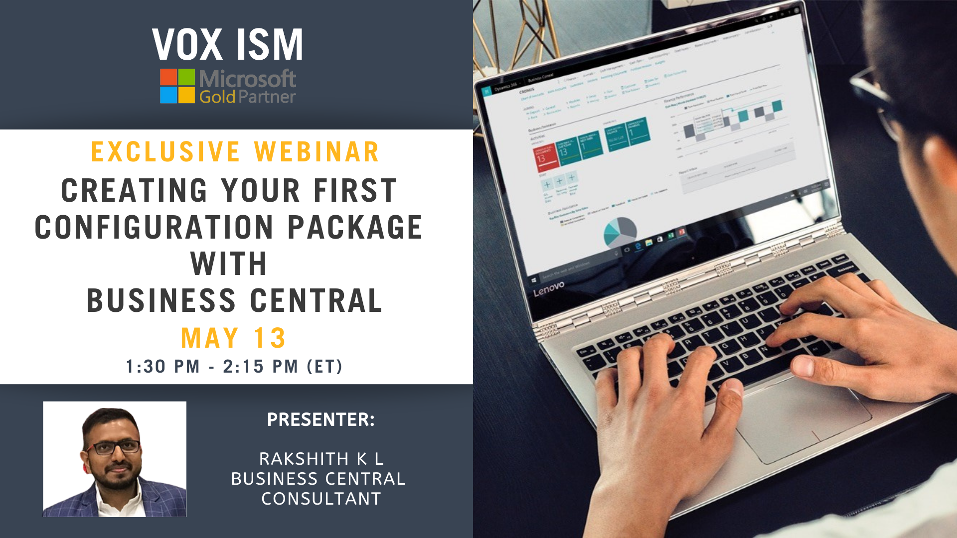 Creating your first configuration package with Business Central - May 13 - Webinar