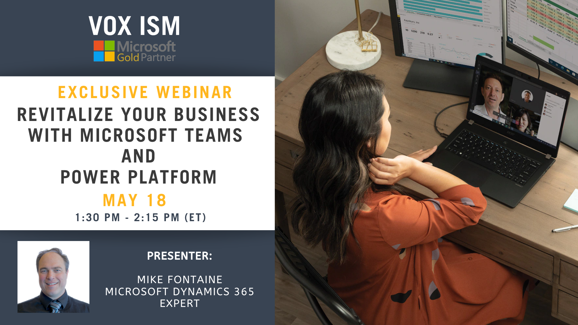 Revitalize your business with Microsoft Teams and Power Platform - May 18 - Webinar