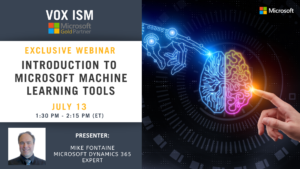 Introduction to Microsoft Machine Learning Tools - July 13 - Webinar