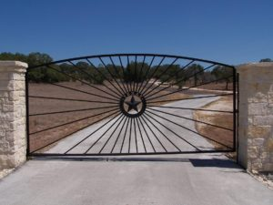 Custom Gate Installation Hill Country