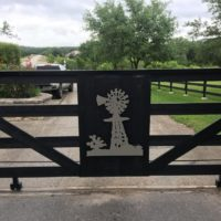 Custom Metal Gates Texas Hill Country