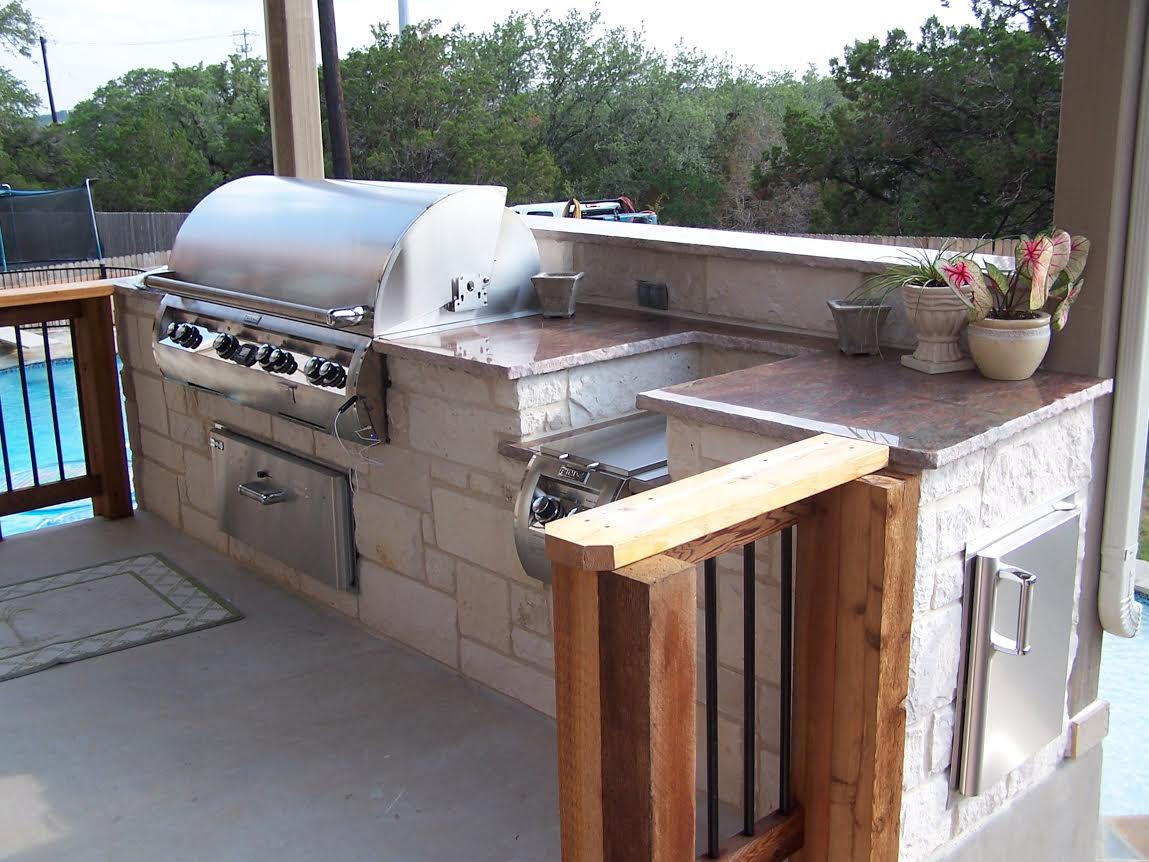 Outdoor Kitchen Builder CMW Texas Bulverde
