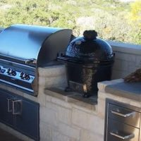 Outdoor Kitchen Home Builder Contractor Hill Country CMW Texas