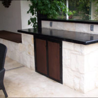 Outdoor Kitchen Design Hill Country