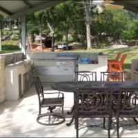 Outdoor Kitchen Spring Branch